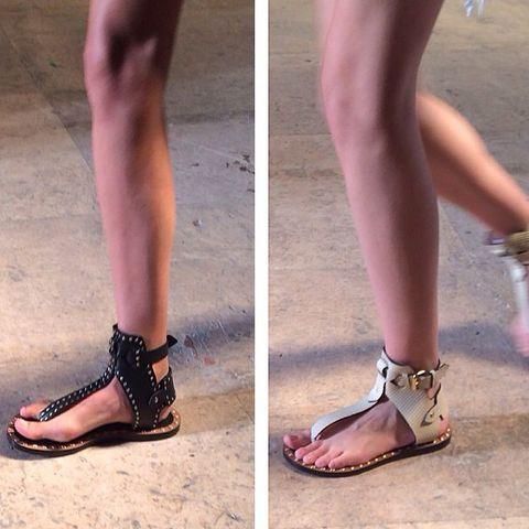 Footwear, Brown, Human leg, Joint, Pink, Muscle, Organ, Tan, Fashion, Foot,