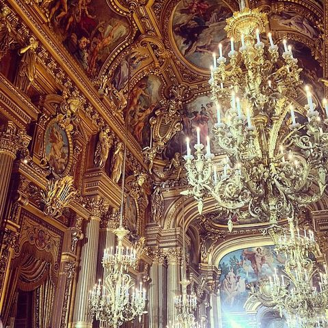 Ceiling, Light fixture, Chandelier, Ceiling fixture, Interior design, Holy places, Byzantine architecture, Classical architecture, Palace, Brass,