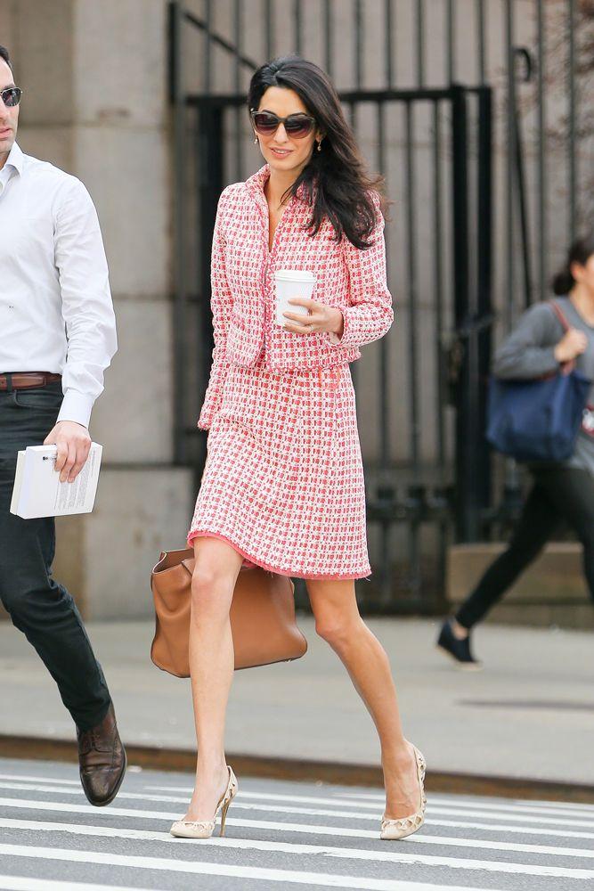 Amal Clooney best looks   Celebrity style inspiration   Fashion