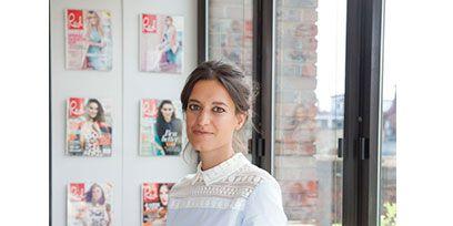 Denim, Shoulder, Jeans, Textile, Interior design, Beauty, Waist, Publication, Street fashion, Book,