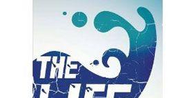 Font, Aqua, Poster, Bird, Water transportation, Ducks, geese and swans, Symbol, Graphic design, Water bird, Waterfowl,