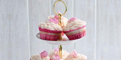 Sweetness, Food, Cuisine, Cupcake, Dessert, Ingredient, Cake, Baked goods, Pink, Baking cup,