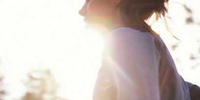 Sleeve, Human body, Shoulder, Standing, People in nature, Elbow, Sunlight, Backlighting, Beauty, Sun,