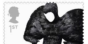 Style, Black, Black-and-white, Monochrome photography, Terrestrial animal, Fur, Monochrome, Wing, Love, Illustration,