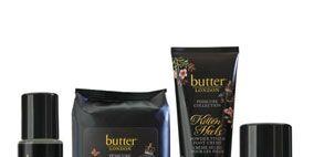 Product, Liquid, Brown, Purple, Font, Logo, Magenta, Lavender, Violet, Beauty,