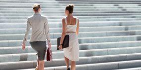 Clothing, Human leg, Standing, Photograph, White, Stairs, Line, Street fashion, Pedestrian, Walking,