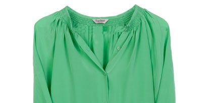 Green, Blue, Product, Yellow, Sleeve, Collar, Textile, White, Teal, Turquoise,