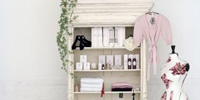 Room, Shelf, Shelving, Interior design, Clothes hanger, Collection, Still life photography, Display case, Natural material, One-piece garment,