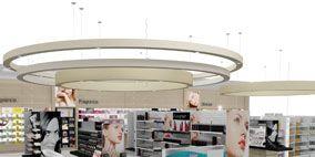 Product, Interior design, Floor, Ceiling, Lavender, Purple, Violet, Commercial building, Aqua, Design,