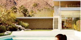 Property, Leisure, Swimming pool, Summer, Beauty, Chaise longue, Swimwear, Sandal, Model, Bikini,