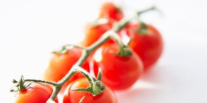 Vegan nutrition, Produce, Whole food, Natural foods, Vegetable, Red, Tomato, Local food, Fruit, Bush tomato,