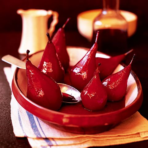 Pears baked in red wine recipe
