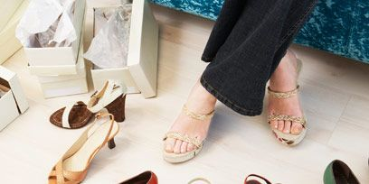 Shoe, Fashion, Slipper, Tan, Foot, Toe, Kitchen utensil, Sandal, Ankle, Musical instrument accessory,