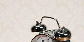 Wood, Hardwood, Alarm clock, Still life photography, Home accessories, Clock, Wood stain, Metal, Interior design, Circle,