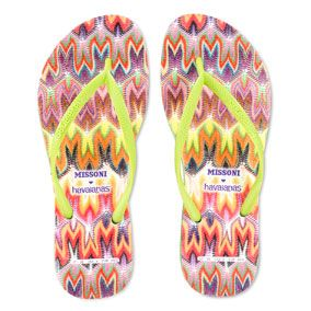 e3bb539a17cd94 Havaianas Collaborates with Missoni for a Second Season