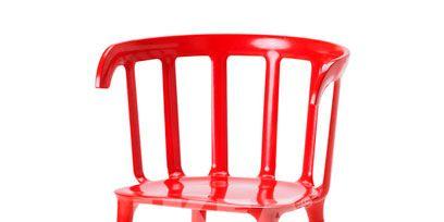 Product, Red, Line, Orange, Maroon, Peach, Plastic, Windsor chair,