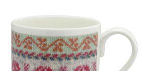 Cup, Serveware, Drinkware, Dishware, Green, Porcelain, White, Pink, Tableware, Ceramic,