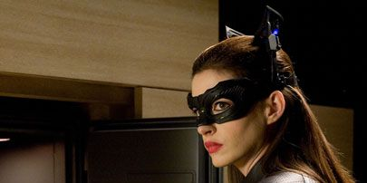 Costume accessory, Fictional character, Costume, Latex, Leather, Mask, Latex clothing, Glove, Leather jacket, Catwoman,