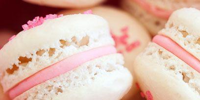 Macaroon, Food, Sweetness, Cuisine, Dessert, Ingredient, Pink, Confectionery, Finger food, Baked goods,