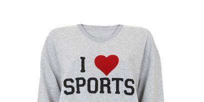 Product, Sleeve, White, Logo, Font, Carmine, Sweater, Neck, Black, Grey,