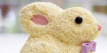 Yellow, Toy, Pink, Magenta, Adaptation, Stuffed toy, Creative arts, Fawn, Cake, Craft,