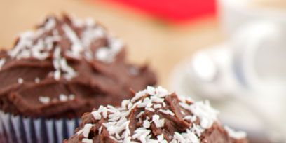 Food, Dessert, Baked goods, Sweetness, Cupcake, Baking cup, Cake, Snack, Baking, Cuisine,