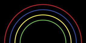 Colorfulness, Green, Red, Darkness, Circle, Gas, Neon, Graphics,