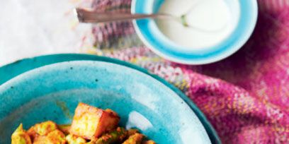 Sophie Grigsons Paneer Asparagus And Broad Bean Butter Masala