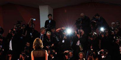 Event, Dress, Flooring, Coat, Carpet, Formal wear, Suit, Little black dress, Premiere, Public event,