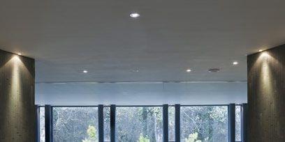 Property, Floor, Wall, Ceiling, Glass, Flooring, Interior design, Fixture, Grey, Concrete,