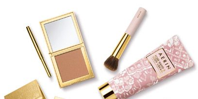 Brown, Product, Yellow, Pink, Amber, Beauty, Cosmetics, Brush, Tints and shades, Metal,