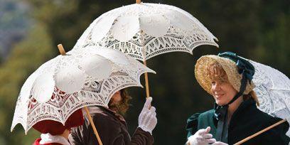 Headgear, Temple, Umbrella, Rain, Vintage clothing, Stock photography, Precipitation,