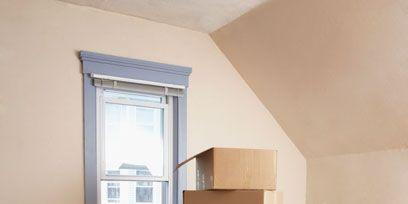 Wood, Property, Architecture, Wall, Room, Floor, Cardboard, Flooring, Carton, Interior design,