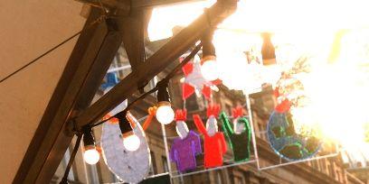 Lighting, Light, Human settlement, Market, Awning, Lantern,