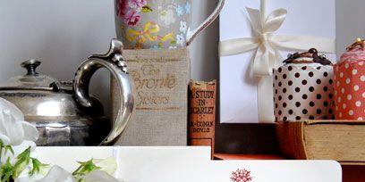 Paper product, Polka dot, Paper, Floral design, Vase, Present, Book, Still life photography, Household hardware, Flower Arranging,