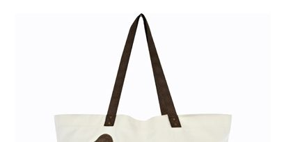 Brown, Product, Ducks, geese and swans, Bag, Bird, Beak, Waterfowl, Beige, Shopping bag, Shoulder bag,