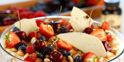 Food, Cuisine, Ingredient, Tableware, Produce, Fruit, Dish, Dessert, Parfait, Frozen dessert,