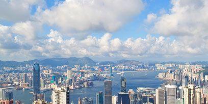 Metropolitan area, Tower block, Daytime, Urban area, City, Cityscape, Cloud, Property, Metropolis, Skyscraper,