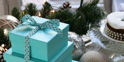 Teal, Turquoise, Aqua, Serveware, Interior design, Christmas decoration, Christmas, Pine family, Home accessories, Natural material,