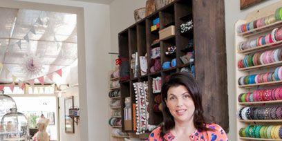 Textile, Shelf, Shelving, Interior design, Picture frame, Home accessories, Retail, Creative arts, Thread, Craft,