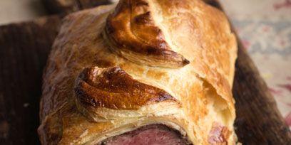 Food, Pork, Cooking, Dish, Meat, Snack, Ham, Fast food, Baked goods, Beef wellington,
