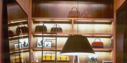 Lighting, Interior design, Room, Light fixture, Ceiling, Shelving, Interior design, Lampshade, Shelf, Lamp,