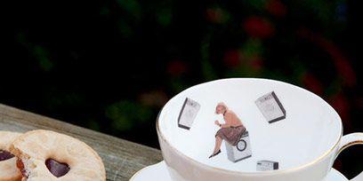 Serveware, Dishware, Drinkware, Cup, Coffee cup, Finger food, Tableware, Porcelain, Cuisine, Ceramic,