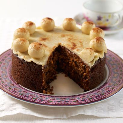 Mary Berry S Simnel Cake Easter Recipes Baking Food