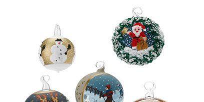 Christmas decoration, Ornament, Circle, Teal, Aqua, Holiday ornament, Christmas ornament, Natural material, Craft, Creative arts,