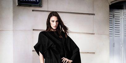 Human body, Sleeve, Shoulder, Style, Formal wear, Dress, Black hair, One-piece garment, Fashion model, Fashion,