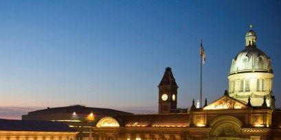 Night, City, Landmark, Mixed-use, Metropolis, Metropolitan area, Town square, Dome, Finial, Byzantine architecture,