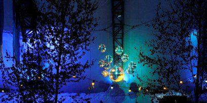 Winter, Majorelle blue, Midnight, World, Holiday, Christmas decoration, Electricity, Christmas, Christmas eve, Ice,