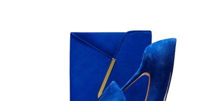 Footwear, Blue, High heels, Electric blue, Basic pump, Sandal, Cobalt blue, Leather, Boot, Court shoe,