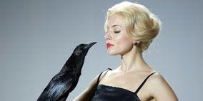 Clothing, Dress, Shoulder, Photograph, Joint, Formal wear, Style, Bird, Beauty, One-piece garment,